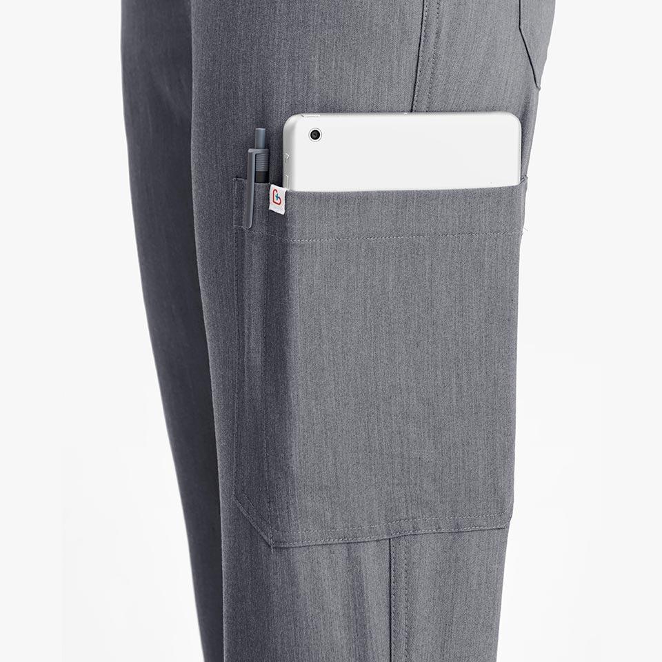 Women's Ten-Pocket Skinny Scrub Pants