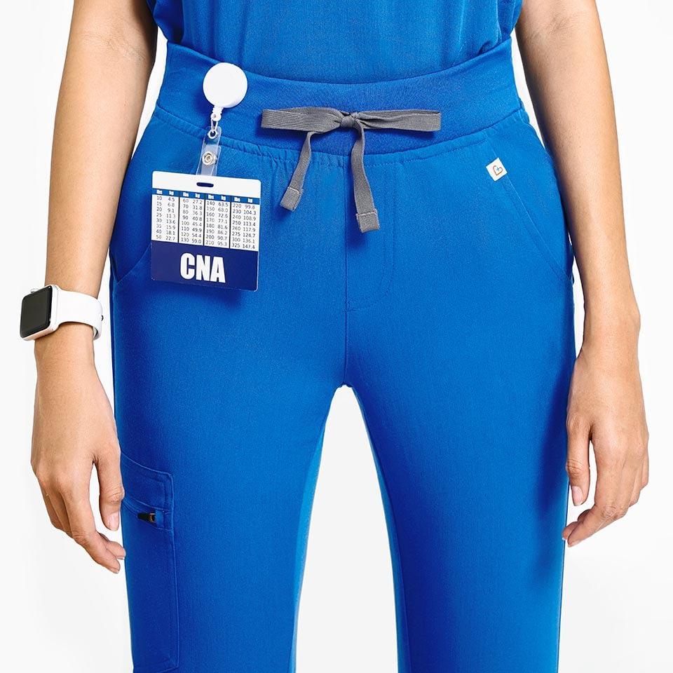 Women's Five-Pocket Jogger Scrub Pants