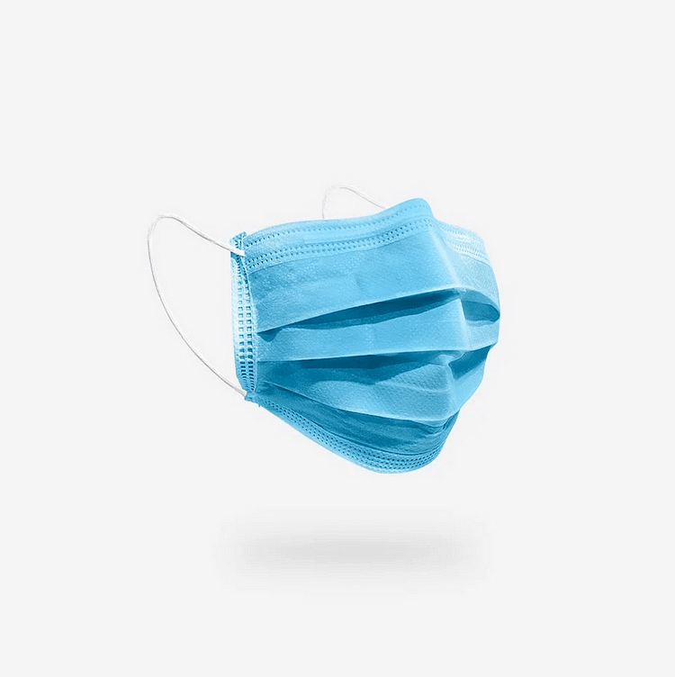 Disposable 4-Ply Face Mask (Box of 50pcs)