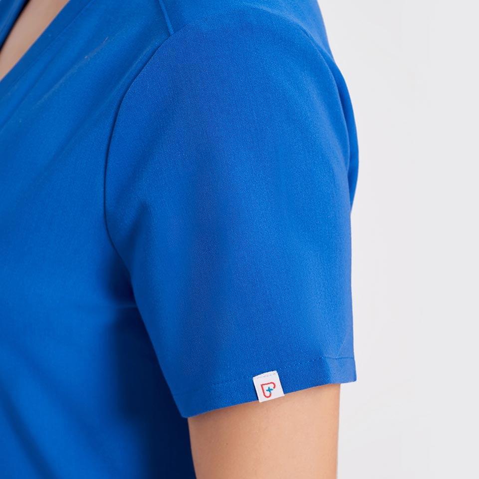 Women's Three-Pocket Scrub Top