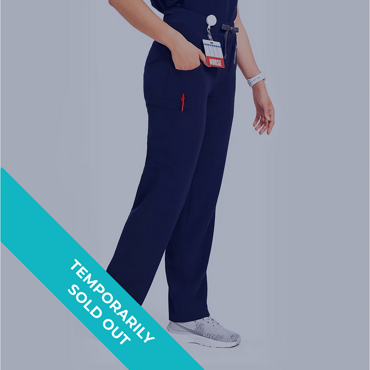 Women's Four-Pocket Cargo Scrub Pants