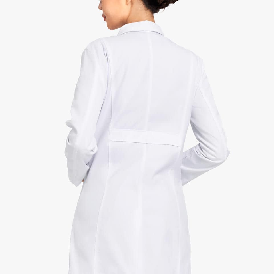 Women's Three-Pocket Lab Coat